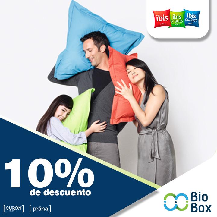Ibis 10% de descuento