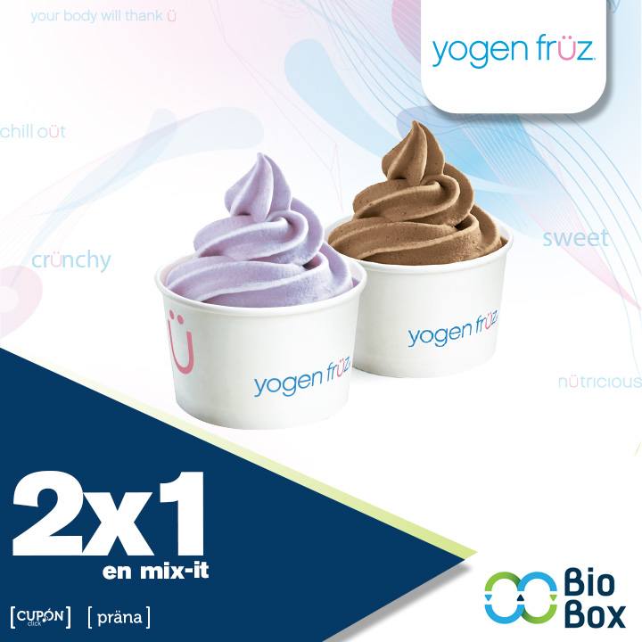 Yogen 2x1 en mix it