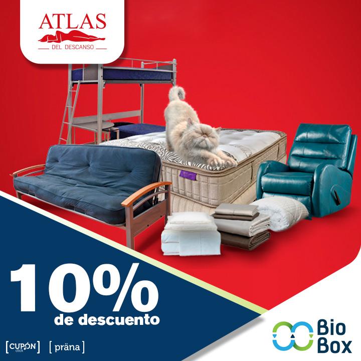 Atlas 10% de descuento